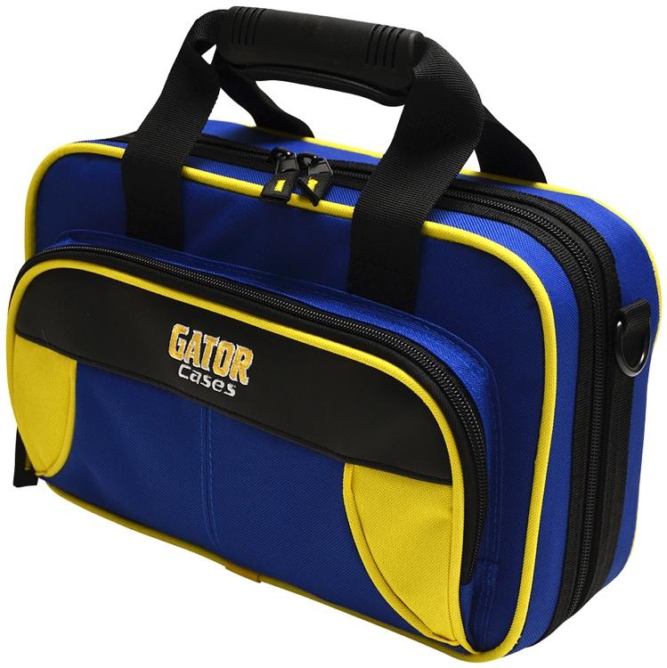 Gator GL-CLARINET-YB - Lightweight Clarinet Case, Yellow & Blue image 1