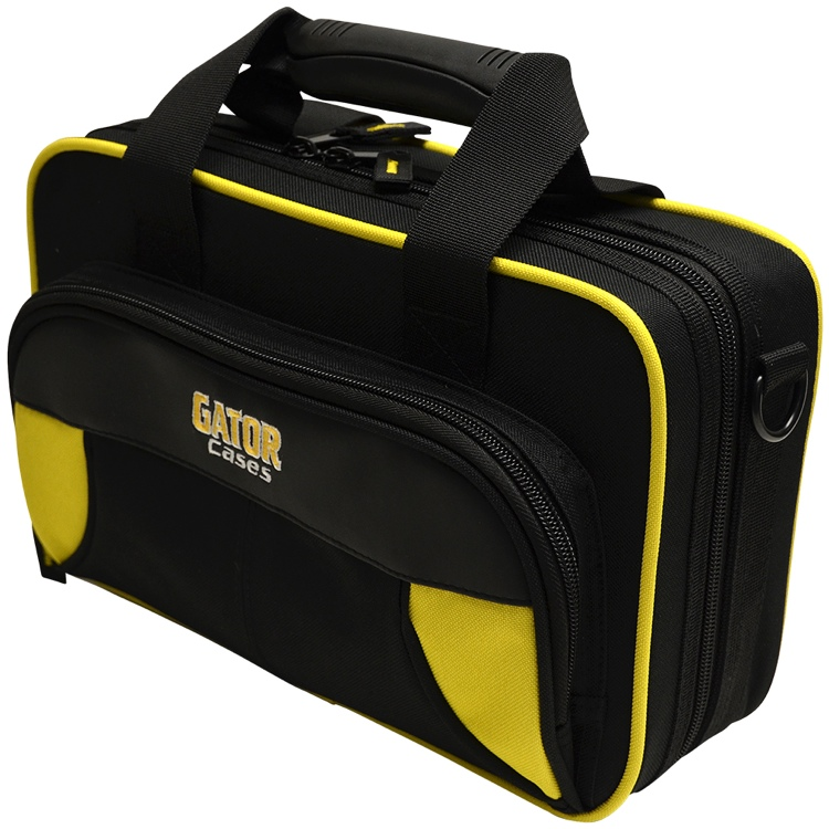 Gator GL-CLARINET-YK - Lightweight Clarinet Case, Yellow & Black image 1
