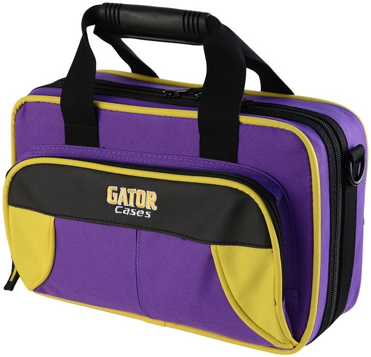 Gator GL-CLARINET-YP - Lightweight Clarinet Case, Yellow & Purple image 1