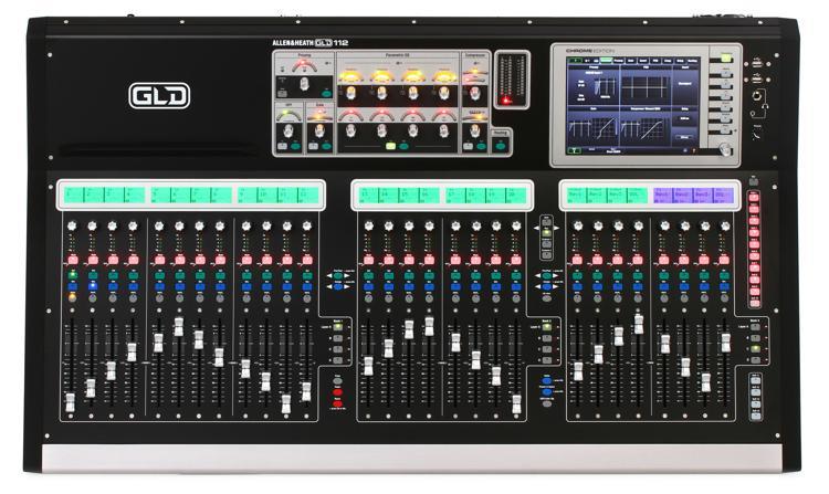 Allen & Heath GLD-112 Chrome Edition Digital Mixer image 1
