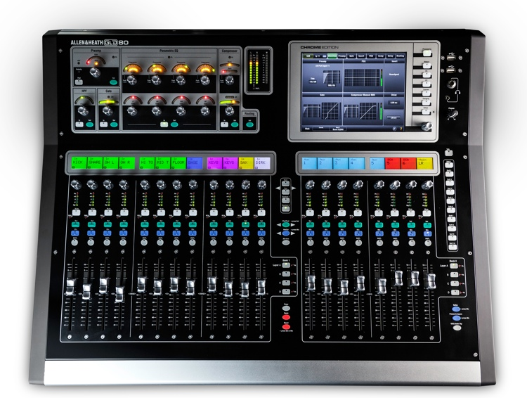 Allen & Heath GLD-80 Chrome Edition Digital Mixer image 1