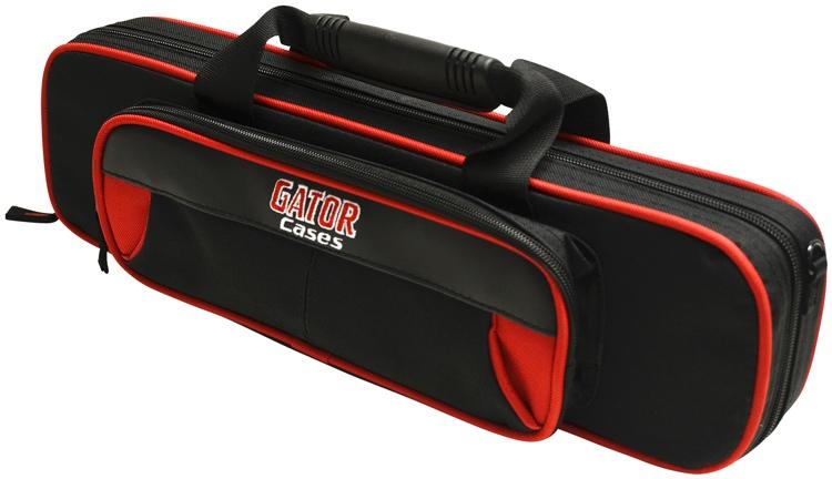 Gator GL-FLUTE-RK - Lightweight Flute Case, Red & Black image 1