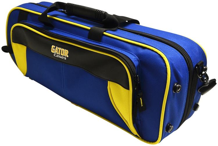 Gator GL-TRUMPET-YB - Lightweight Trumpet Case, Yellow & Blue image 1
