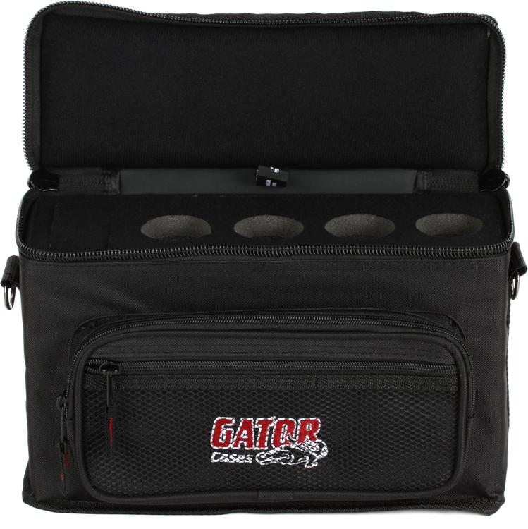 Gator GM-4 - 4 Microphones Bag image 1