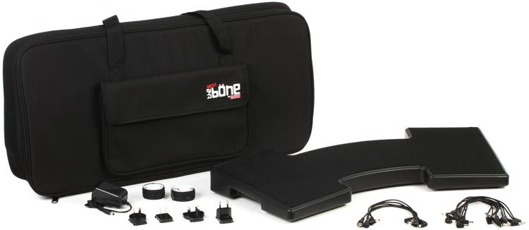 Gator G-MEGA-BONE - Mega Bone Pedal Board; w/ Carry Bag & Power Supply image 1