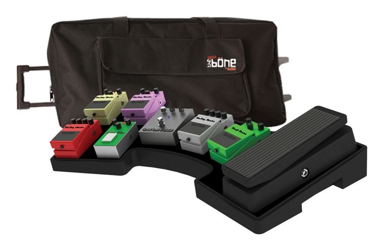 Gator G-Mega-Bone-W - Molded Pedal Board with Carry Bag image 1