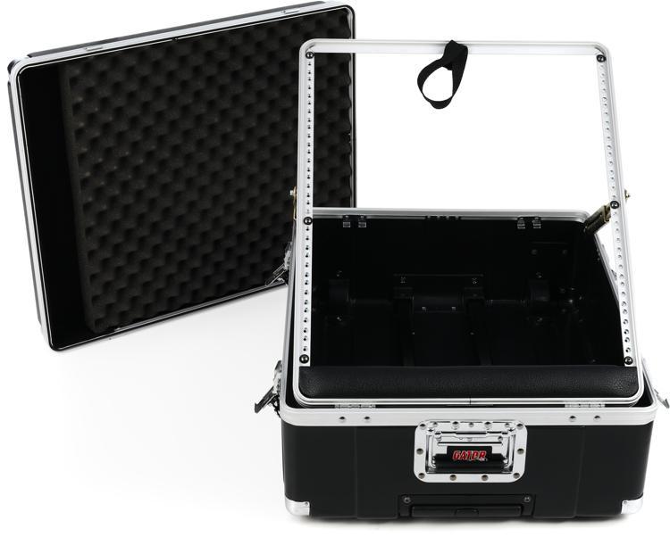 Gator GMIX-12PU-TSA - Pop-Up Mixer Case w/ TSA Latches; 12U; 6.5