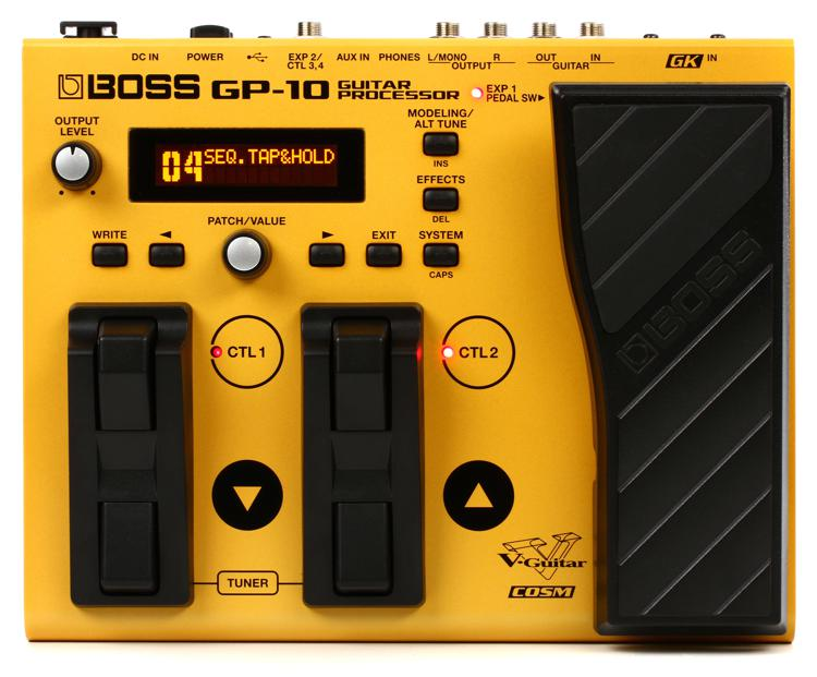Boss GP-10 Guitar Processor without GK-3 Pickup image 1
