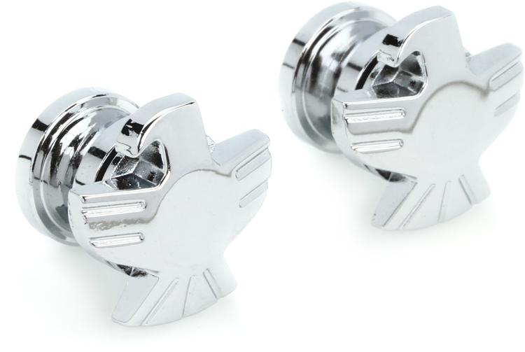 Grover GP620C Strap Button Set - Eagle - Chrome image 1