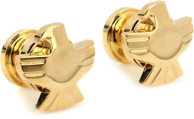Grover GP620G Strap Button Set - Eagle - Gold image 1