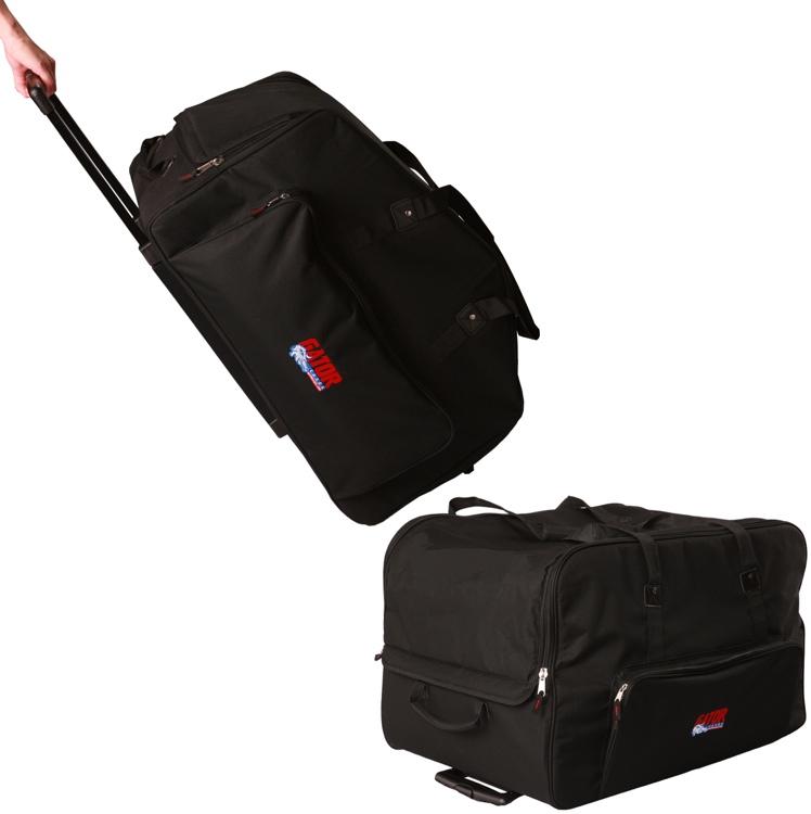 Gator GPA-715 2-pack - Rolling speaker bag for most 15