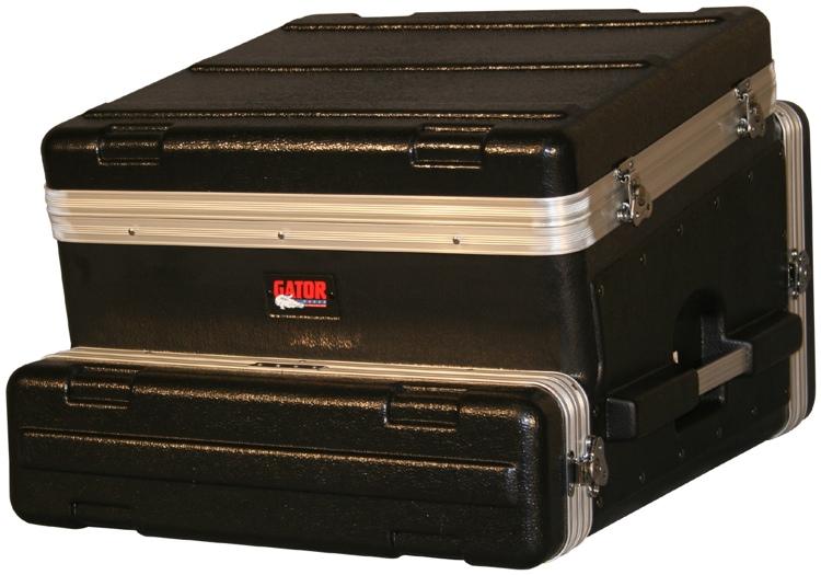Gator GRC-10X2 - 10U Top, 2U Side Console Audio Rack image 1
