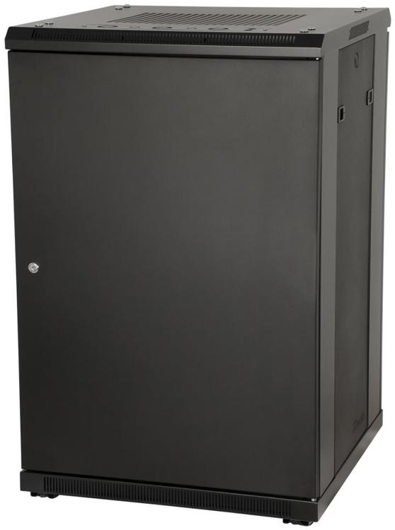 Gator GRW3022509 Floor Standing Rack - 22U with Glass Door image 1