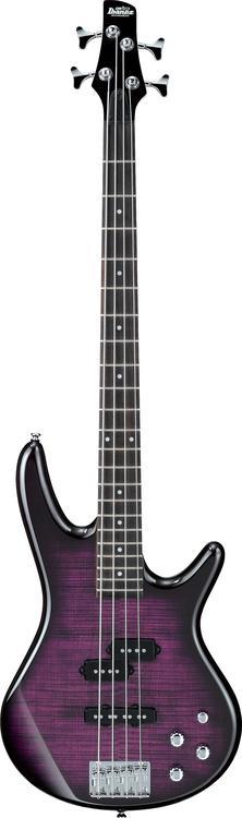 Ibanez GSR200FM 4-string Bass - Transparent Lavender Burst image 1