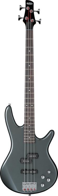 Ibanez GSR200 4-String Bass - Metallic Gray image 1
