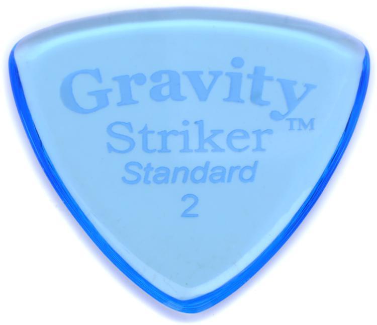 Gravity Picks Striker - Standard Size, 2mm, Polished image 1