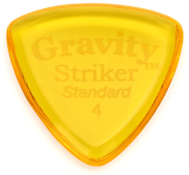 Gravity Picks Striker - Standard, 4mm, Polished image 1