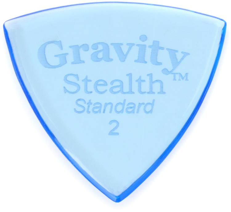 Gravity Picks Stealth - Standard, 2mm, Polished image 1