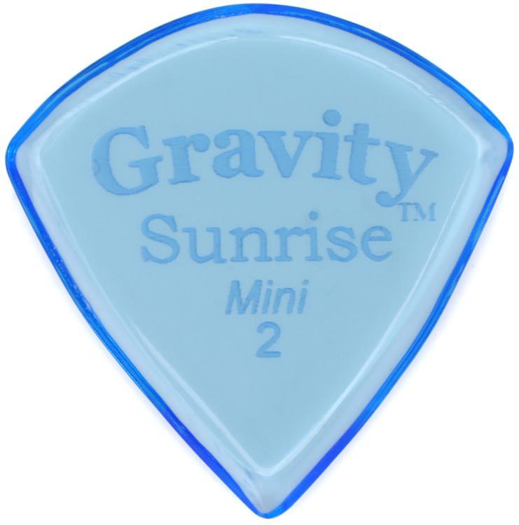 Gravity Picks Sunrise - Mini Size, 2mm, Polished image 1