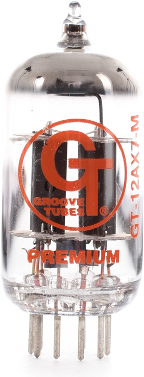 Groove Tubes GT-12AX7-M Mullard-style Preamp Tube image 1