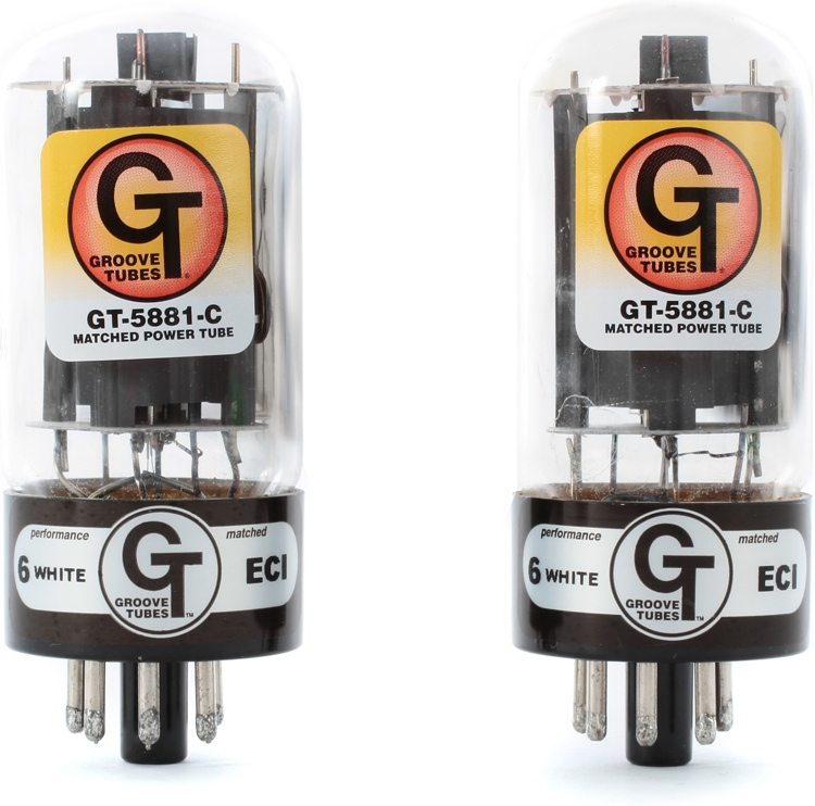 Groove Tubes GT-5881C Power Tubes (Duet) image 1