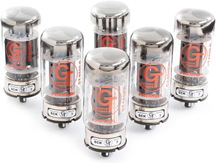 Groove Tubes GT-6550-R Low Sextet Tube Set image 1
