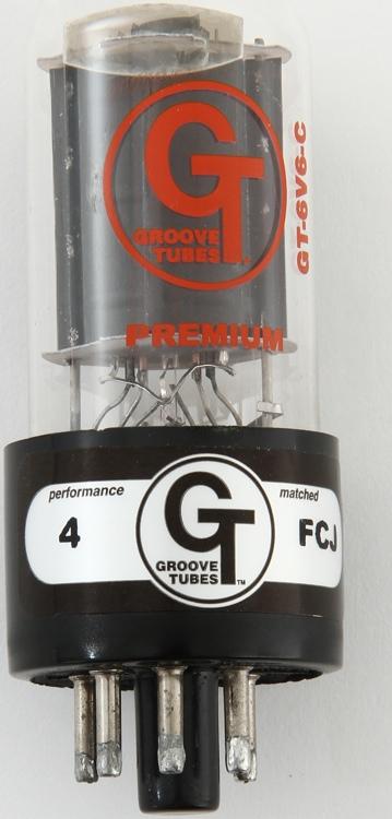 Groove Tubes GT-6V6-C Power Tube - Classic - Single - Medium image 1