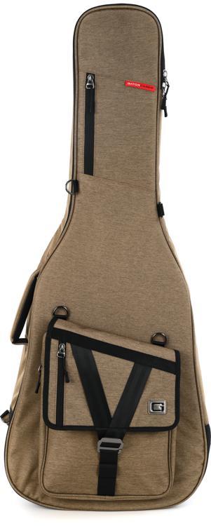 Gator Transit Series Acoustic Guitar Bag - Tan image 1