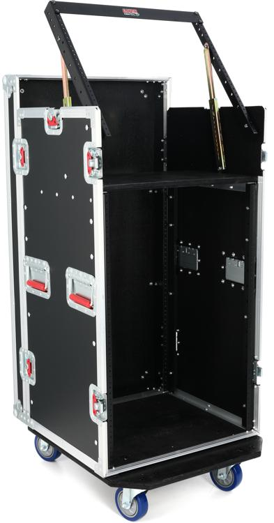Gator G-TOUR 10X16 PU - 10U Top, 16U Side Audio Road Rack Case image 1