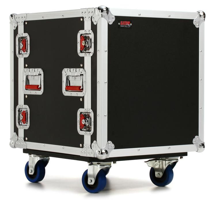Gator G-TOUR 12U CAST - 12U, Standard Audio Road Rack Case w/ Casters image 1