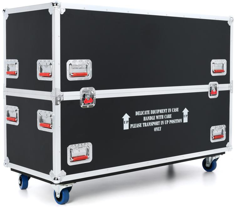 Gator G-TOURLCDV2-4350-X2 - ATA LCD case for two 43-50