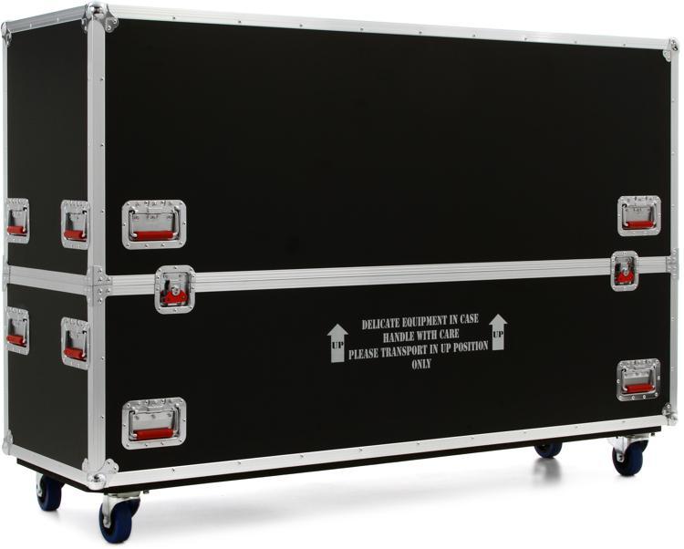 Gator G-TOURLCDV2-6065-X2 - ATA LCD case for two 60-65