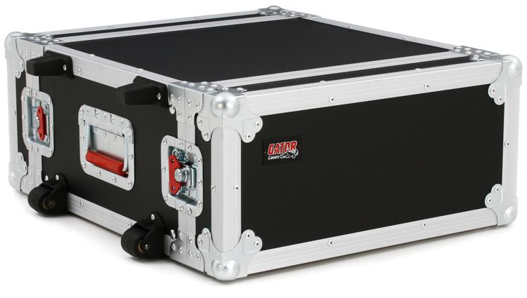 Gator G-TOUR 4UW - 4U, Standard Audio Road Rack Case, w/ Wheels image 1