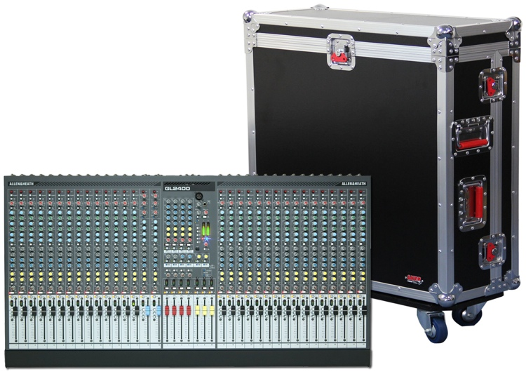 Gator G-TOUR AH2400-32 - Road Case For 32 Channel GL2400 Mixer image 1