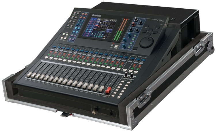 Gator G-TOUR LS9-16 - Road Case for 16 Channel Yamaha LS9 Mixer image 1