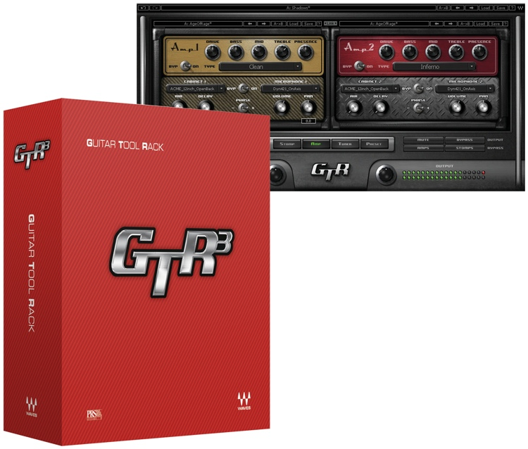 Waves GTR3 Plug-in Bundle image 1