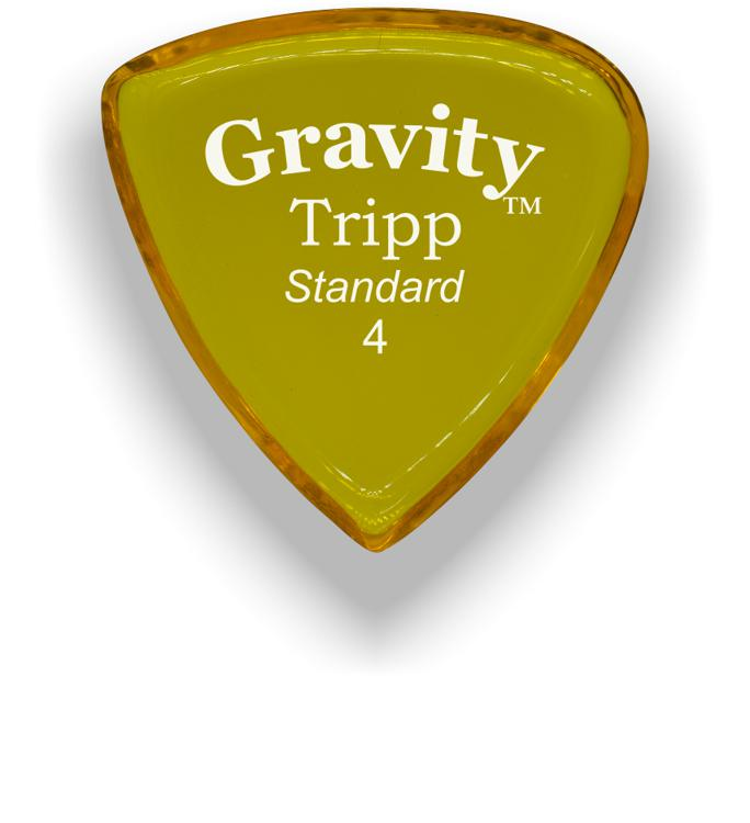 Gravity Picks Tripp - Standard Size, 4mm, Polished image 1