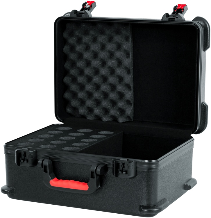 Gator TSA Series Case for 15 Wired Microphones image 1
