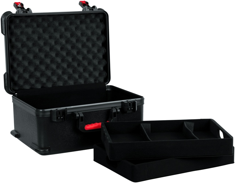 Gator TSA Series Case for 7 Wireless Microphones w/Lift-out Storage Trays image 1