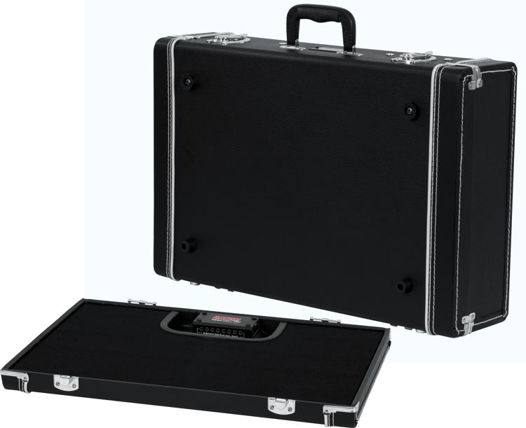 Gator Gig-Box Jr. Power All-in-one Pedalboard w/ 3x Guitar Stand and Power Supply image 1