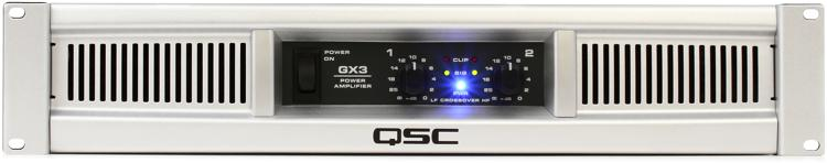 QSC GX3 Power Amplifier image 1