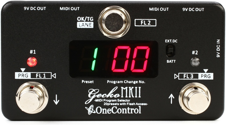 One Control Gecko Mark II MIDI Switcher image 1