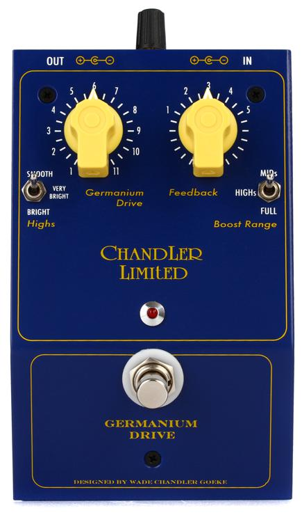 Chandler Limited Germanium Drive Distortion Pedal image 1