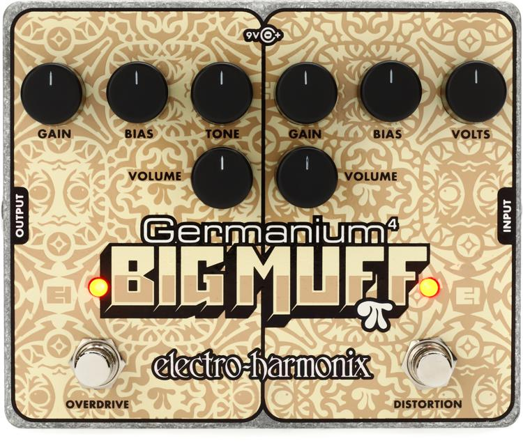 Electro-Harmonix Germanium 4 Big Muff Pi Distortion / Overdrive Pedal image 1