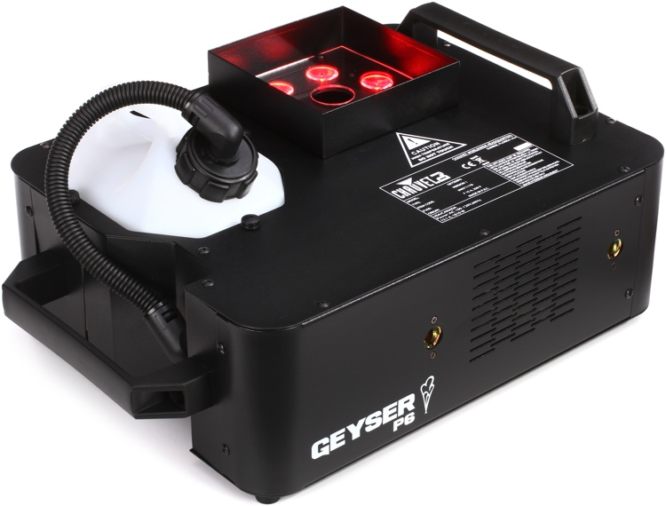 Chauvet DJ Geyser P6 RGBA+UV Illuminated Vertical Fog Machine image 1
