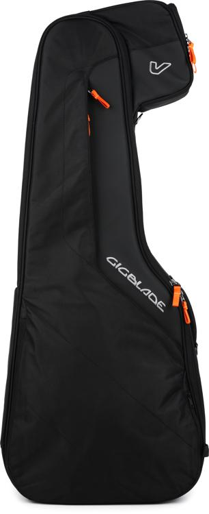 Gruv Gear GigBlade Side-carry Hybrid Gig Bag for Acoustic or Classical Guitar - Black image 1