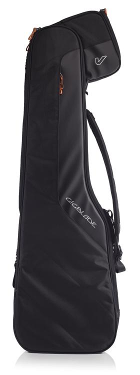 Gruv Gear GigBlade Side-Carry Hybrid Gig Bag for Electric Bass - Black image 1