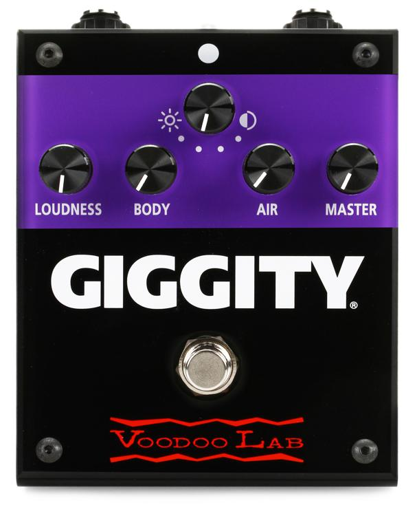 Voodoo Lab Giggity Analog Mastering Preamp Pedal image 1