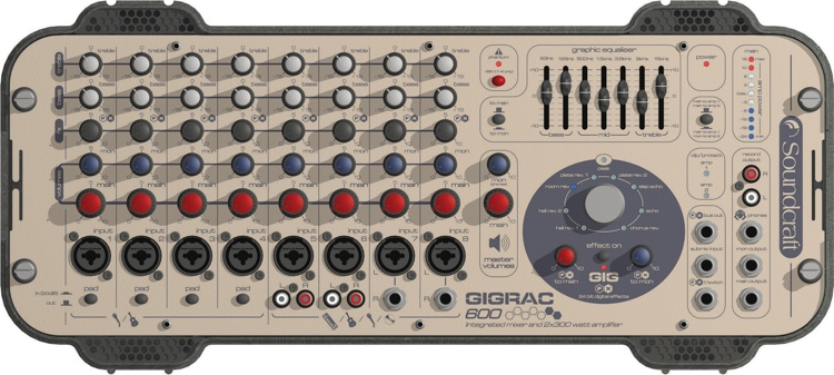 Soundcraft GigRac 600 image 1