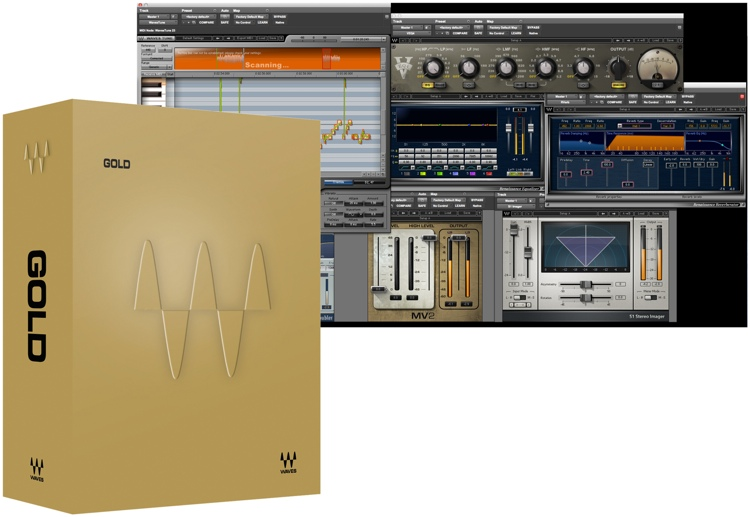 Waves Gold Plug-in Bundle for Academic Institutions image 1